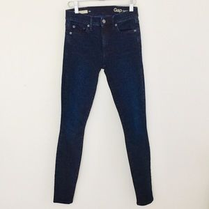 Gap Mid Rise Resolution True Skinny Jeans